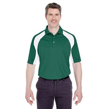 054f4288 Adult Cool & Dry Sport Performance Colorblock Interlock Polo
