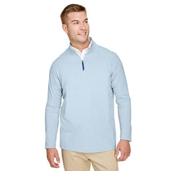 bc2a750f2 CrownLux Performance Men's Clubhouse Micro-Stripe Quarter-Zip