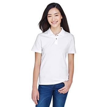bda8ba54 Ladies' 6 oz. Ringspun Cotton Piqu Short-Sleeve Polo