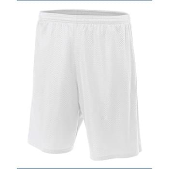 Adult Nine Inch Inseam Mesh Short
